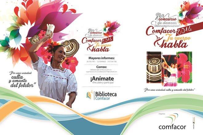 , I Concurso Interempresarial de danzas en Comfacor, La Guía de Montería