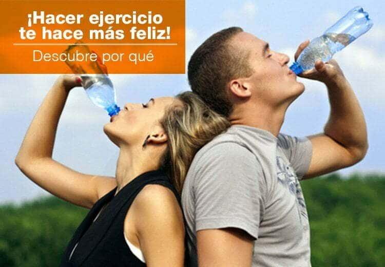 ¡El ejercicio puede hacerte más feliz!, descubre por qué.