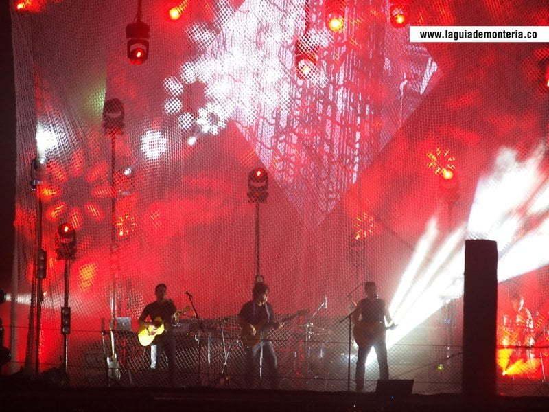 El concierto de Juanes en Montería