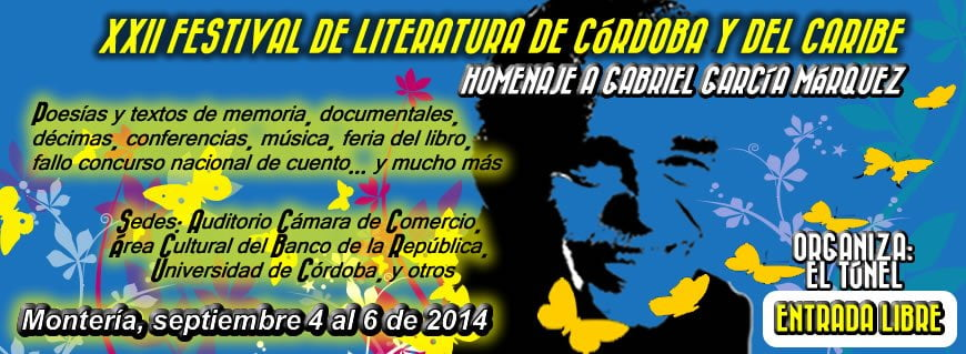 XXII Festival de literatura de Córdoba y el caribe