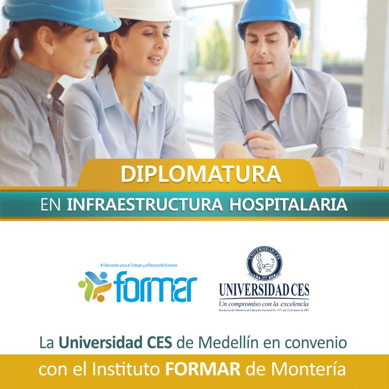 , Diplomado en Infraestructura Hospitalaria, La Guía de Montería