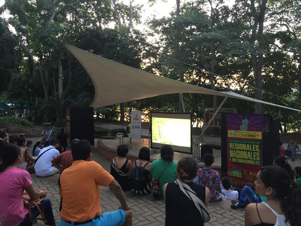muestra audiovisual cine sinu 1