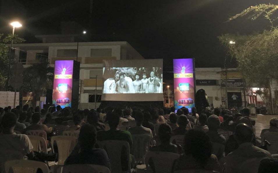 muestra audiovisual cine sinu