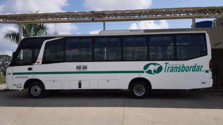Transbordar a la medida (Transporte especial de pasajeros)