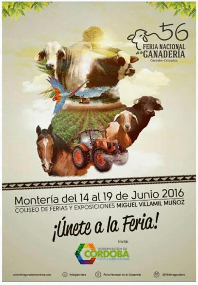 Feria Nacional de la ganadería, Feria Nacional de la Ganadería 2016, La Guía de Montería