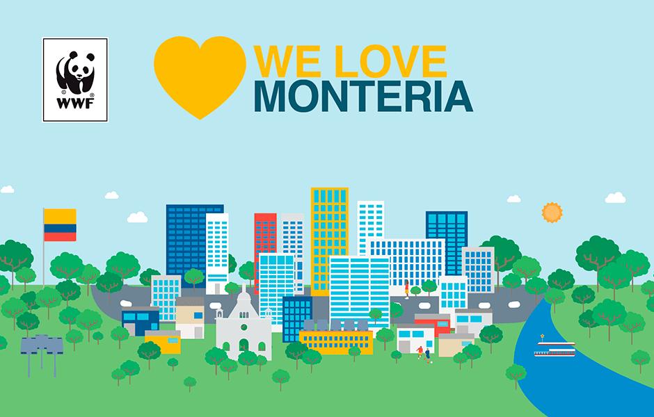 We love montería
