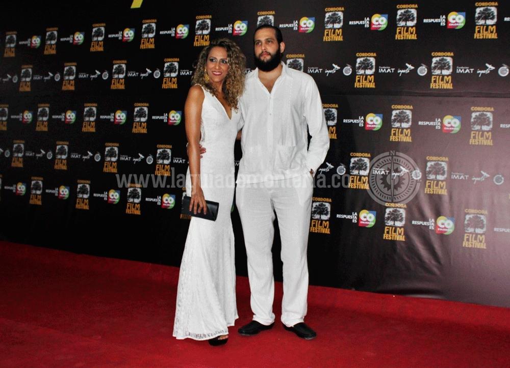 Los directores del Festival: Agamenón Quintero y Salma Tafur