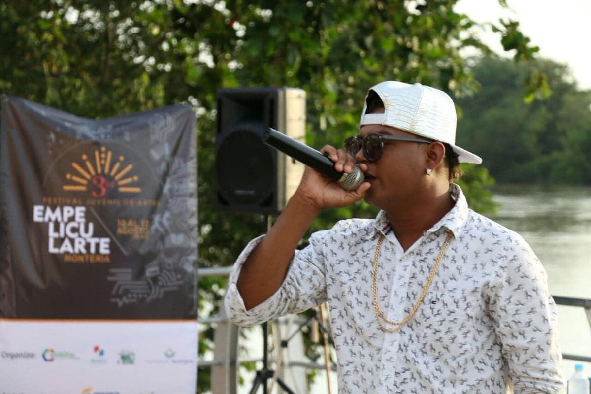 Lanzamiento del festival juvenil de artes EMPELICULARTE en Montería
