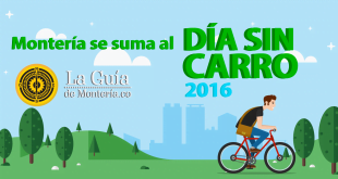Montería se suma al Día Internacional Sin Carro