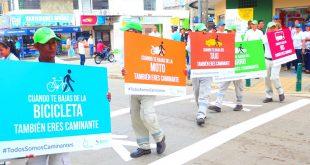 """Alcaldía de Montería emprende campaña de cultura ciudadana """"Todos somos caminantes"""""""