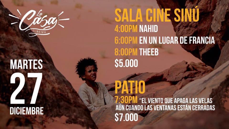 La Casa Cinema, La Casa Cinema despide el 2016 con las mejores películas del año, La Guía de Montería