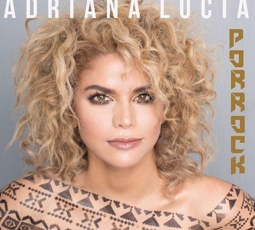 portada del álbum adriana lucía