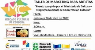 Cultura y Marketing – Taller para artistas
