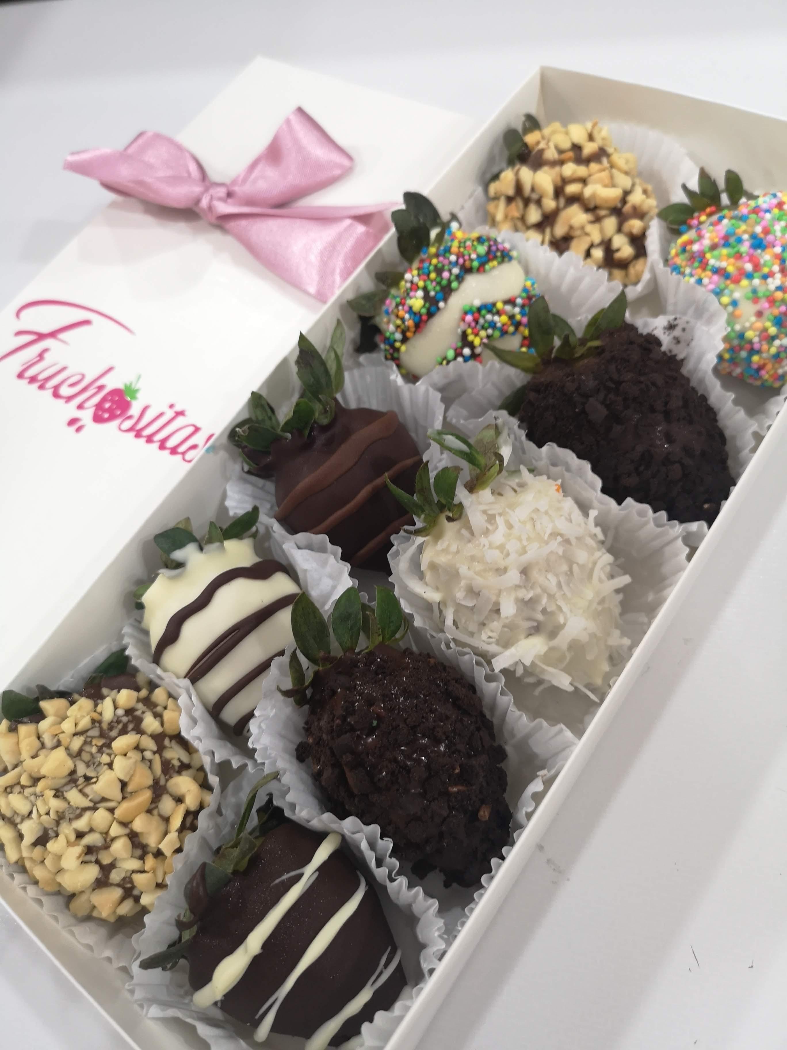 fresas con chocolate en Montería, Fruchositas Montería, La Guía de Montería