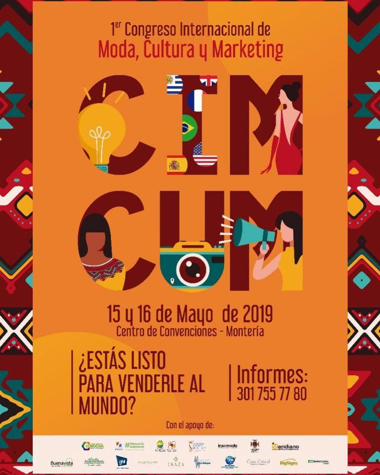 """""""CIMCUM"""" El Primer Congreso que le apuesta a los emprendedores de la moda y cultura en Montería"""
