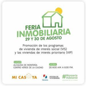 Feria Inmobiliaria en Montería, Hoy se realiza Feria Inmobiliaria en Montería, La Guía de Montería
