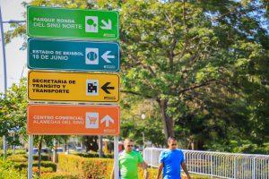 Montería estrena señalización urbana, Montería estrena señalización urbana, La Guía de Montería