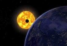 ver el planeta más cercano al Sol