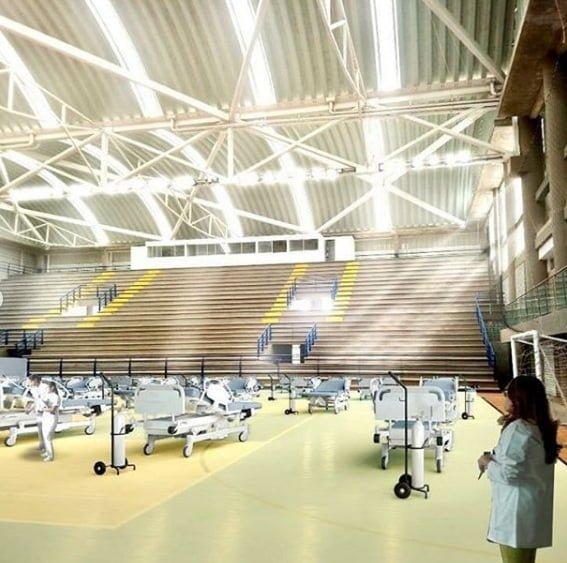 Coliseo Happy lora será adecuado como hospital para casos de Covid19