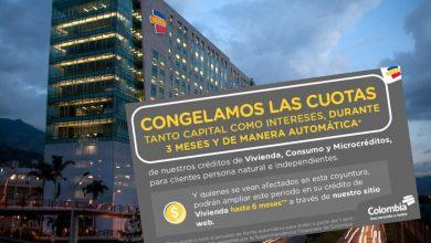 Bancos de Colombia congelan créditos