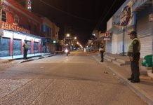 Excepciones del toque de queda en Córdoba