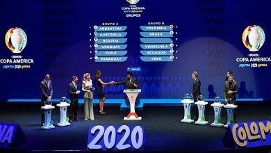 Horarios de Colombia en la Copa América 2020