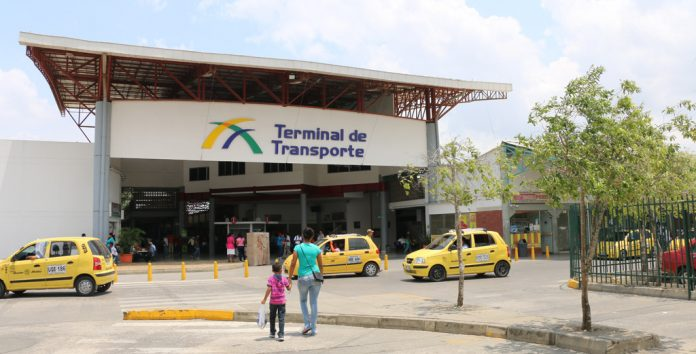 Reporte movilidad en la Terminal de Transporte de la ciudad
