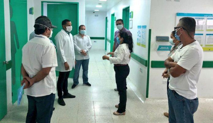 Acciones desarrolladas frente al primer caso de Covid19 en Montería