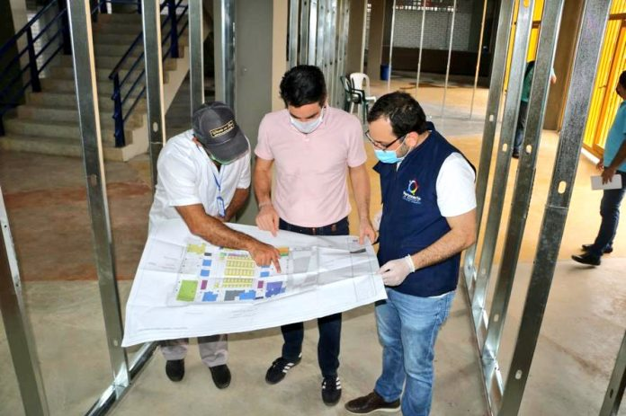 Inician adecuaciones del hospital de campaña en Montería