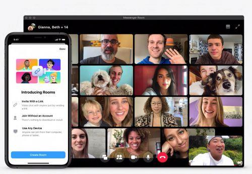 Messenger Rooms permitirá hasta 50 personas en una videollamada