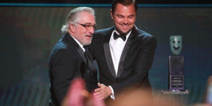 Quienes donen dinero podrán salir en una película con Di Caprio y De Niro