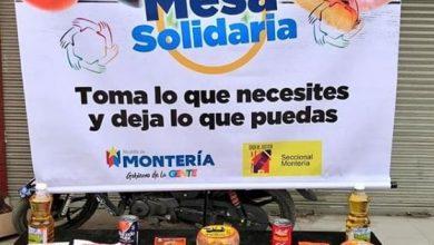 """""""Mesas Solidarias"""" en Montería para donar alimentos no perecederos"""