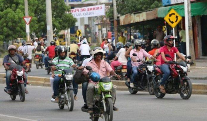 Nuevas medidas sobre la movilización de motos en Montería