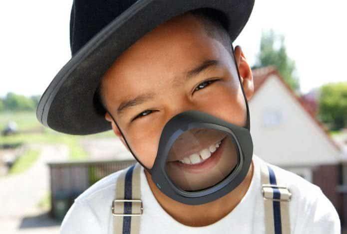 Cliu Mask, tapabocas que desinfecta solo y se controla desde el celular