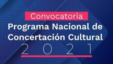 Abren convocatoria para el Programa Nacional de Concertación Cultural
