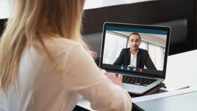 Consejos para una entrevista de trabajo por videollamada
