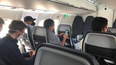 ¿Cuál es el riesgo de contagiarse en un avión?