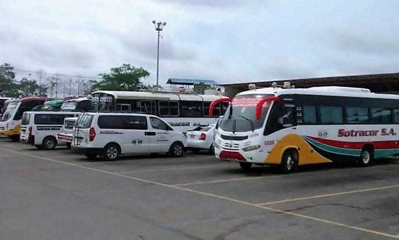 Protocolo para reapertura del transporte intermunicipal