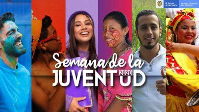 Semana de la juventud, programación lunes 10 de agosto