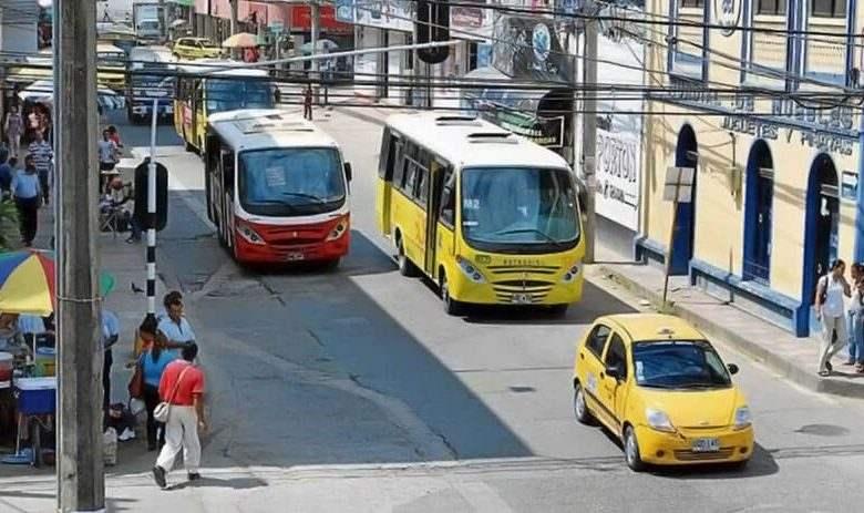 Transporte público colectivo garantiza operación en Montería