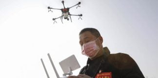 Así funciona el dron que podría detectar el Covid19