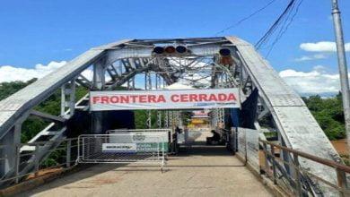 Cierre de frontera se extenderá hasta el próximo 01 de noviembre