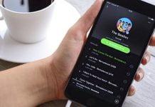 Opción gratuita de Spotify para usuarios sin suscripción