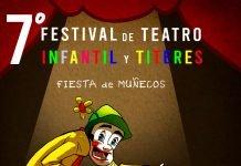 Programación del 7° Festival de Teatro infantil y títeres