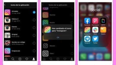 Así puede cambiar el ícono de Instagram