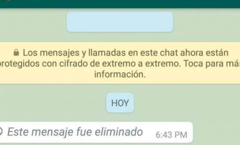 Así puedes leer los 'mensajes eliminados' de WhatsApp