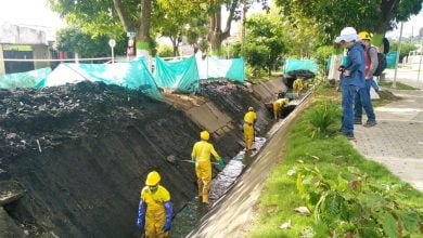 Cronograma de limpieza de canales de desagüe de Veolia