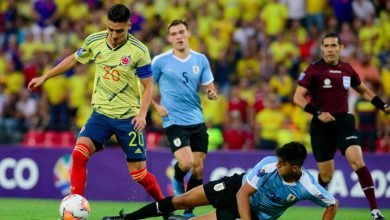 Fecha y hora confirmadas del partido Colombia vs. Uruguay
