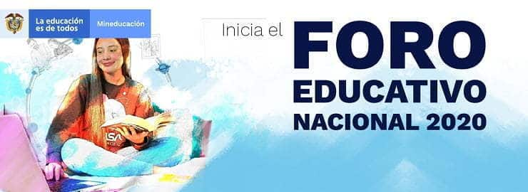 Foro Educativo Nacional 2020