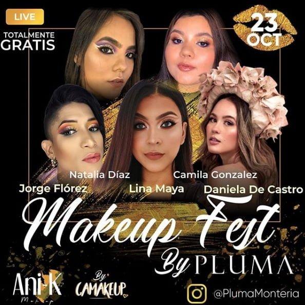 No te pierdas el Make Up Fest en Montería